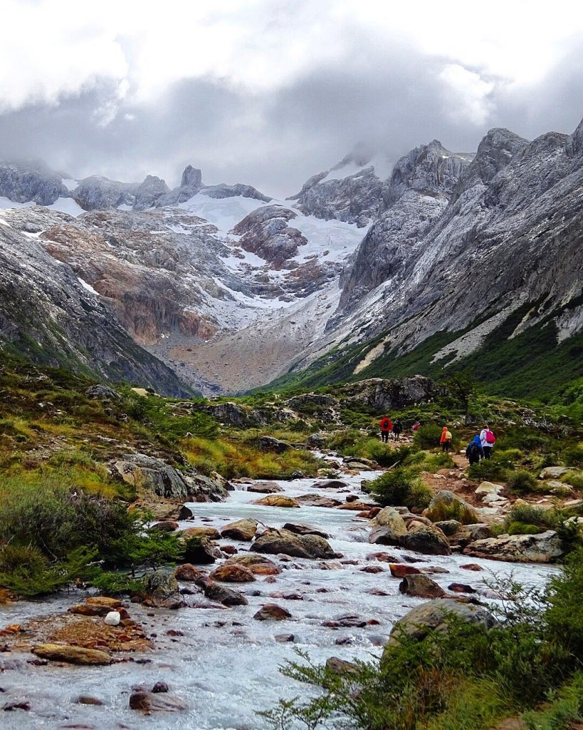 Camino a Laguna Esmeralda, el sendero mas conocido de Ushuaia