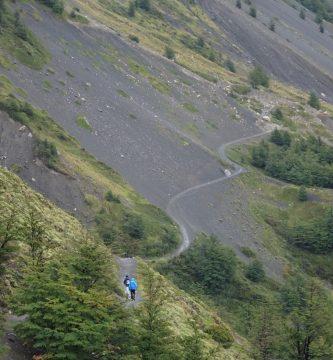 Sendero a las Torres del Paine