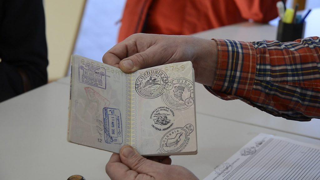 Que Hacer en Ushuaia, Sellarse el Pasaporte