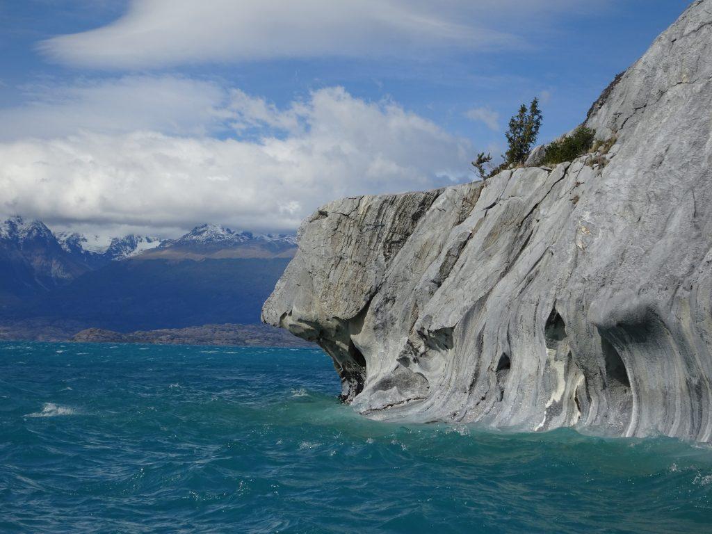 Formaciones de mármol de 300 millones de años